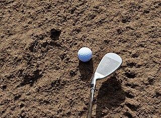 Sand wedge