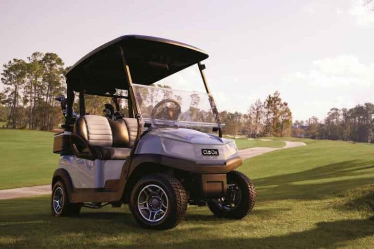 can you use a marrine battery in a golf cart