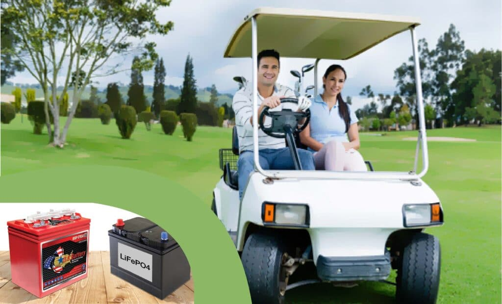 How long does a golf cart battery last 3