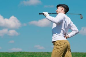 Gollf Withn Lower Back Pain