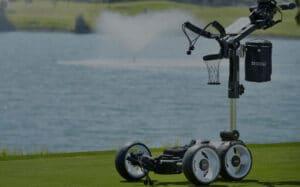 best electric golf push carts