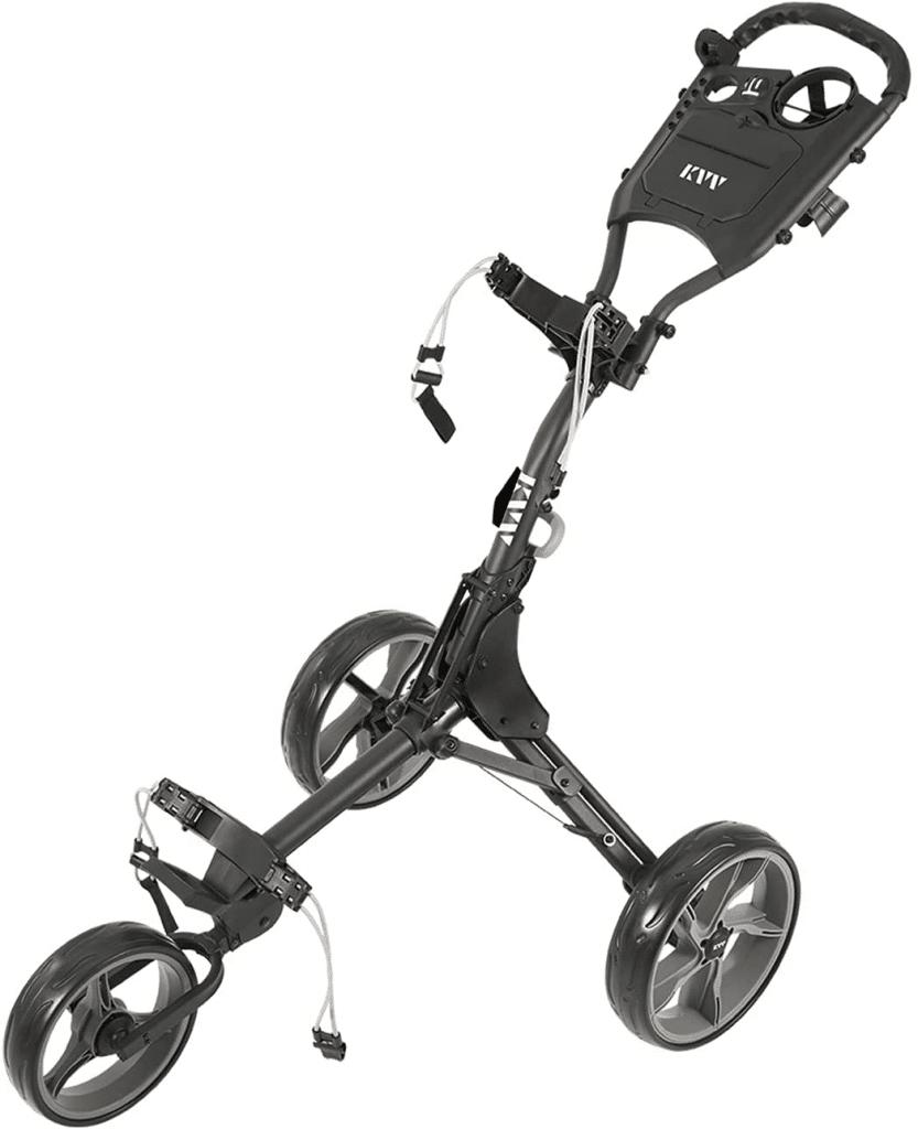 Best 3 Wheel Golf Push Cart 9