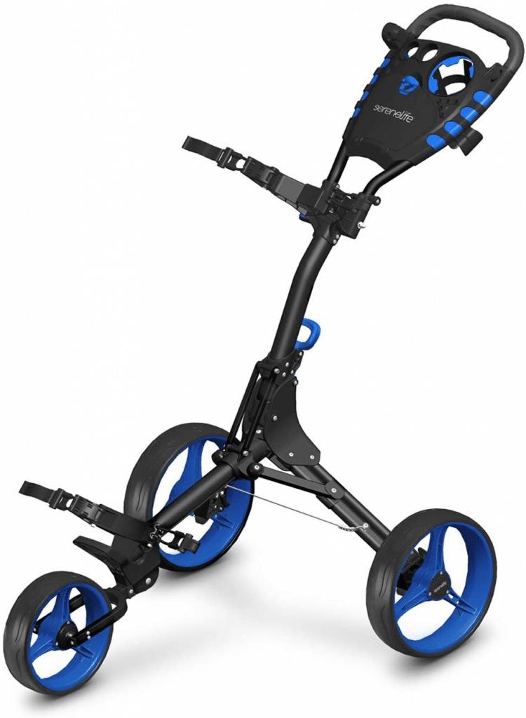Best 3 Wheel Golf Push Cart 7