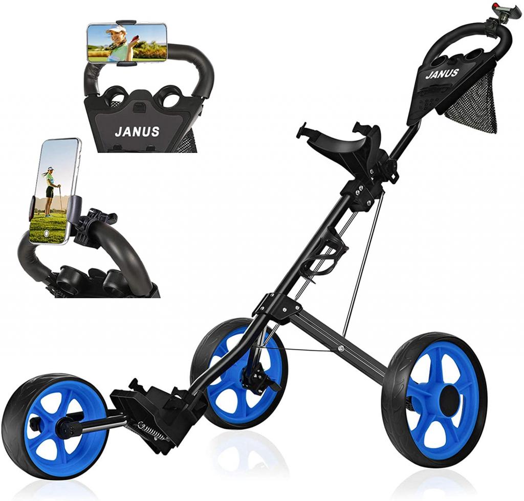 Best 3 Wheel Golf Push Cart 8