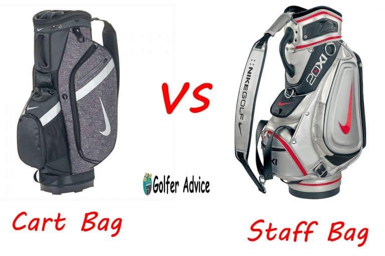 Cart Bag vs. Staff Bag